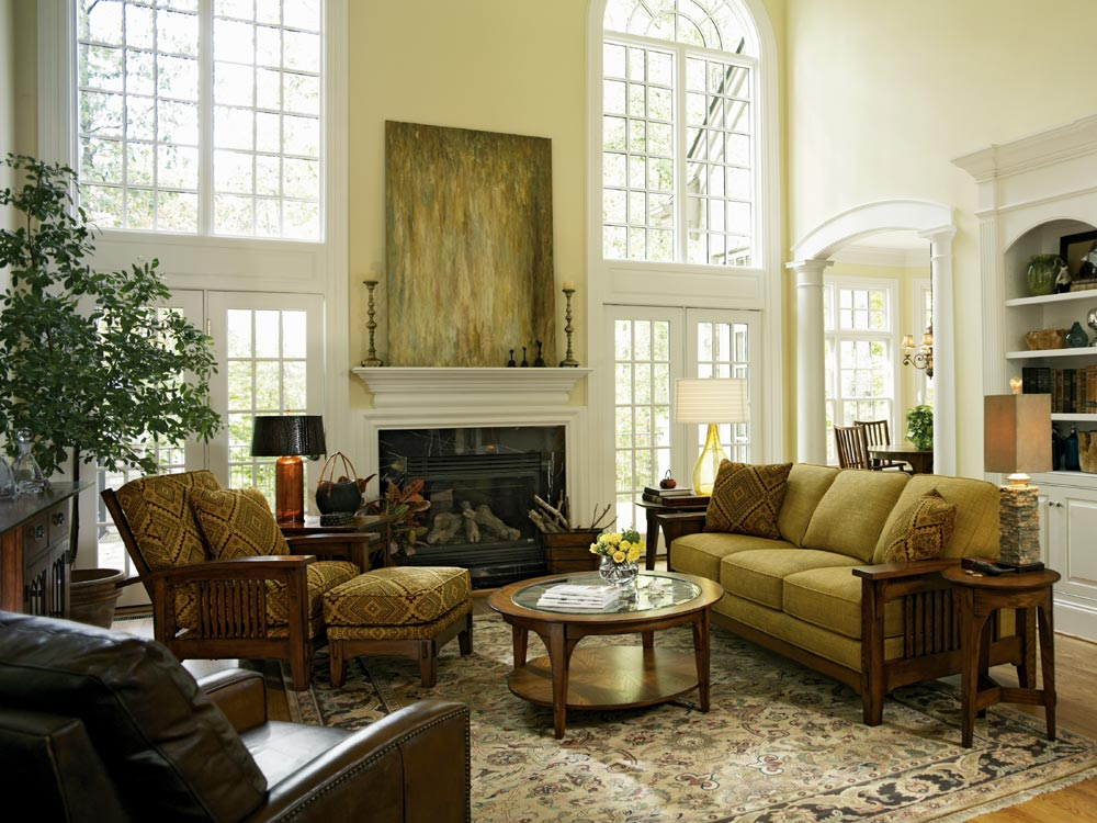 Photo Gallery of The Modern Traditional Living Room