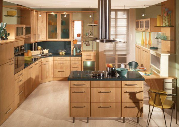 Stunning Designs Of Classy Wooden Kitchens