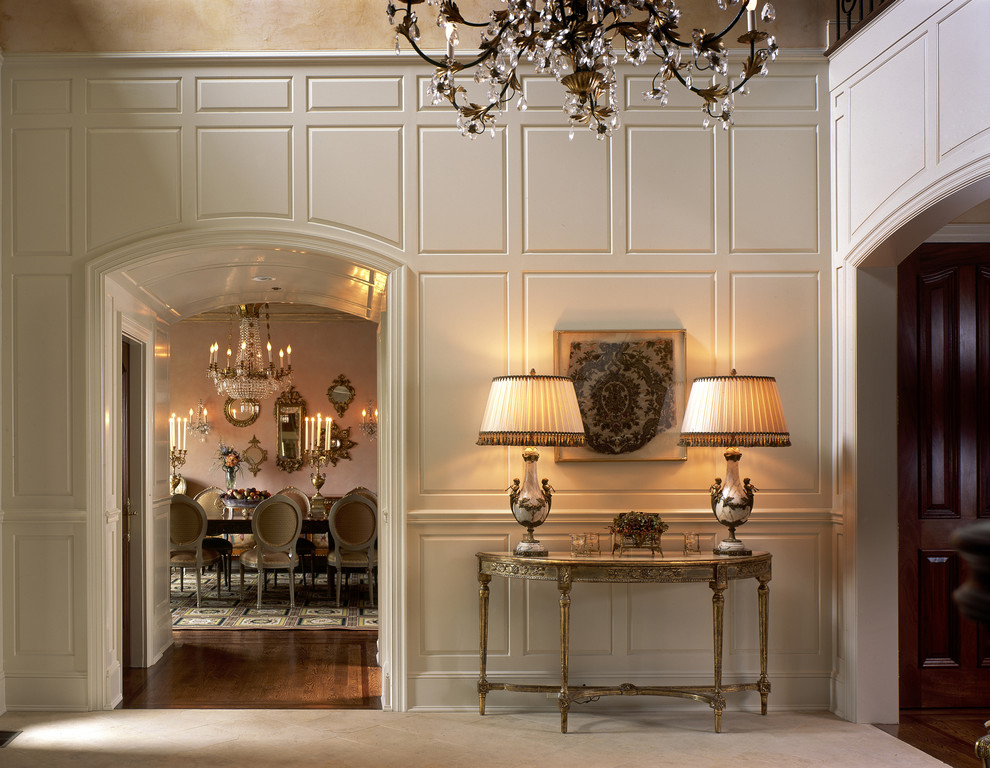 Stupefying-Foyer-Table-decorating-ideas-for-Entry-Traditional-design-ideas-with-Stupefying-archway-console-table