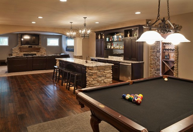 basement-finish-traditional-basement-on-room-design-or-room-ideas