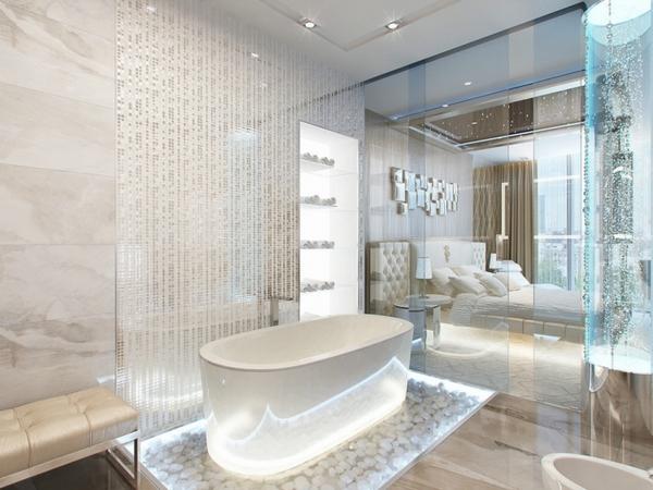 bathroom-trendss-2015-glass-wall-freestanding-bathtub-led-lighting