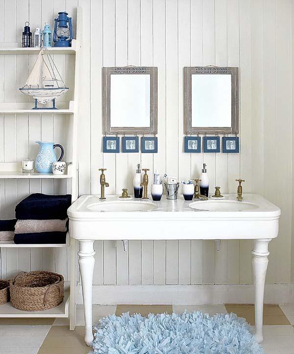 Beach Style Bathroom Design Ideas