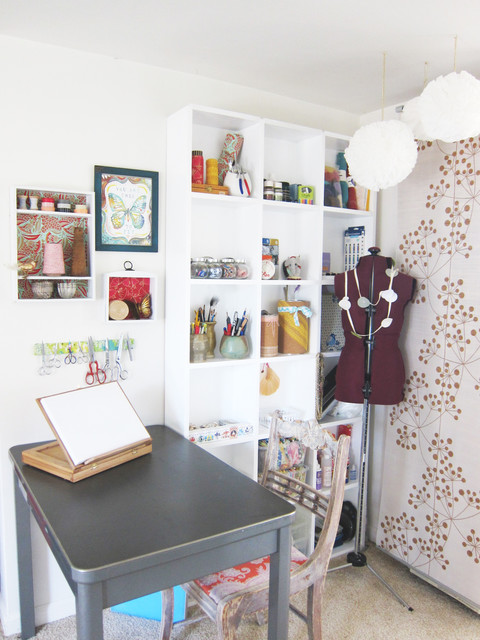 eclectic-home-office-design -ideas
