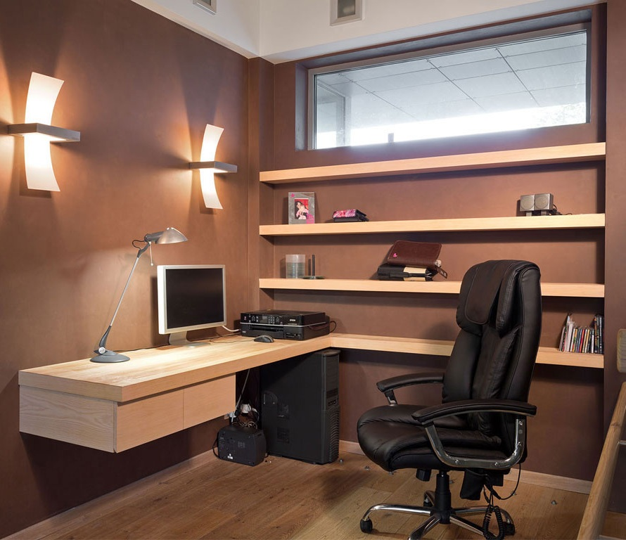 Creative Home Office Decorating Ideas from secureservercdn.net