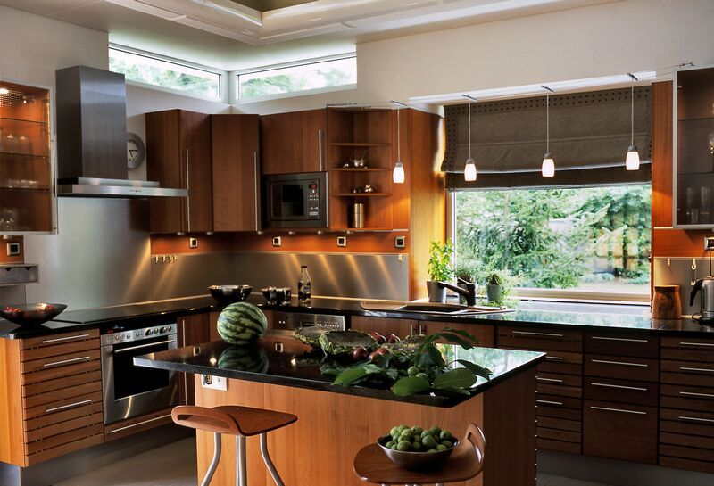kitchen-cabinets-modern-medium-wood