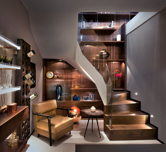 Amazing-Contemporary-Basement-Design-Interior-Ideas