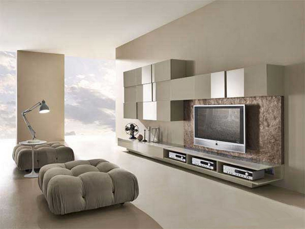 Artistic-Lighting-and-Elegant-Wall-TV-Units-in-Modern-Living-Room