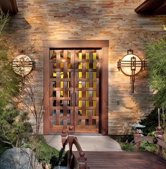 Asian Door Design