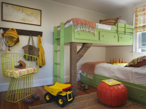 21 Lovely Beach Style Kids Bedroom Design