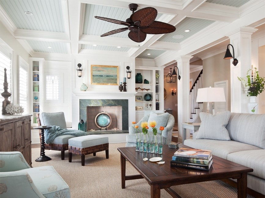 Bewitching-Bead-Board-house-designs-Beach-Style-Living-Room-New-York