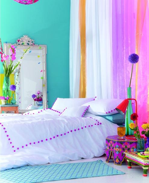 Bright-Colored-Bedroom