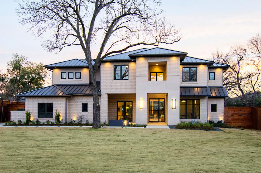 Charming-Exterior-Design-home-remodel-Transitional-Exterior-Dallas