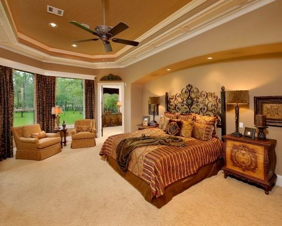 Charming Mediterranean bedroom