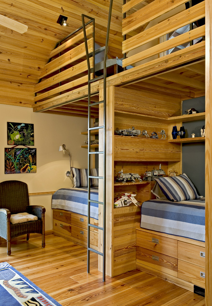 Comely-Kids-Farmhouse-design-ideas-for-Vintage-Boys-Room-Decor-Ideas