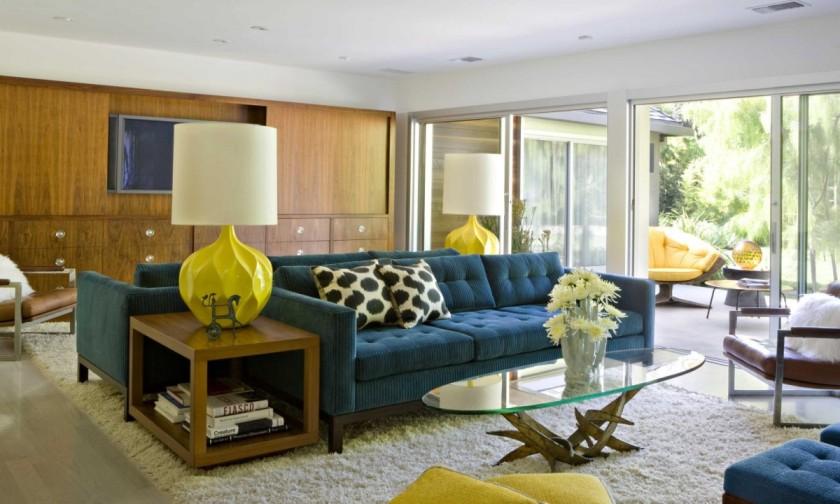20 Stunning Midcentury Living Room Design