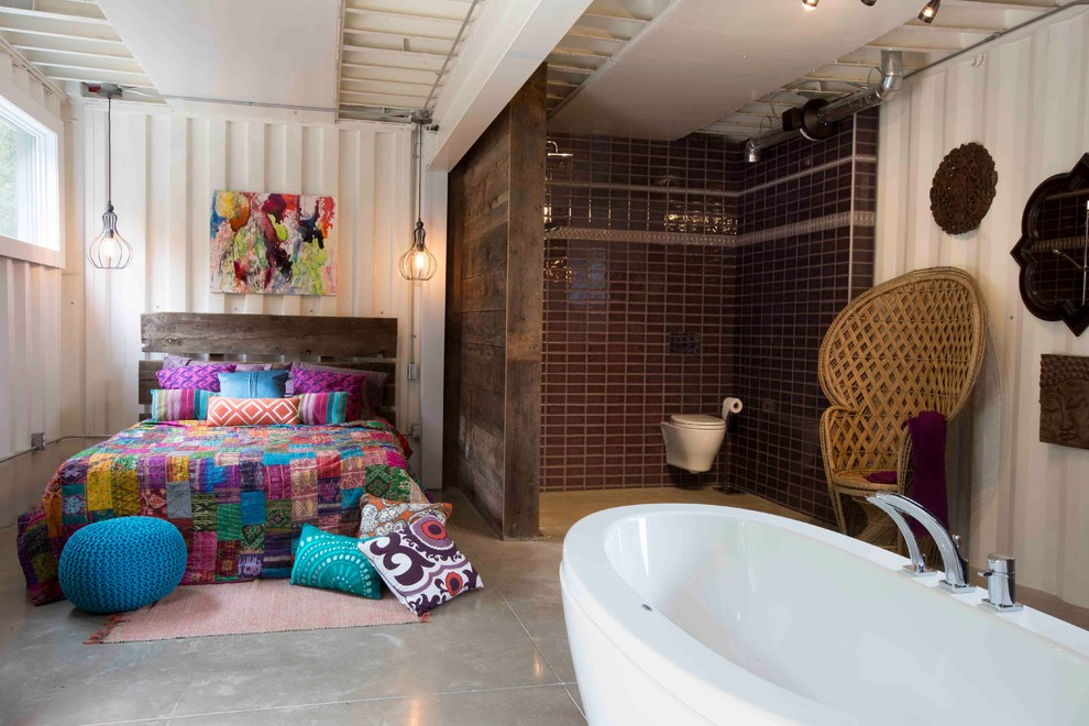 Fantastic-Bohemian-Chic-Home-Decor-Decorating-Ideas-Images-in-Bedroom-Industrial-design-ideas-