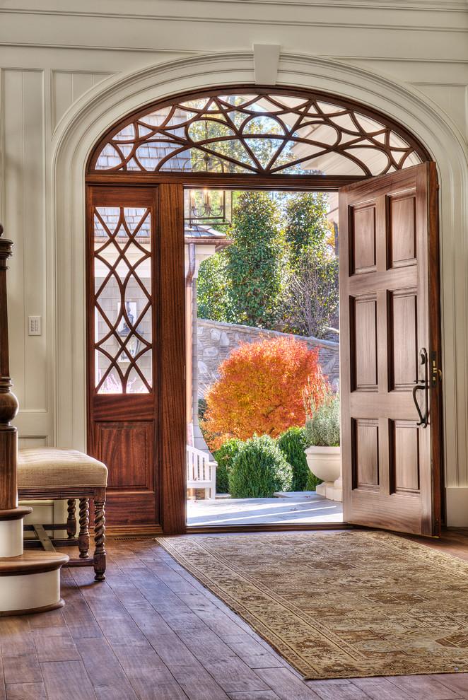 Gorgeous-Wood-Work-home-interior-design-Beach-Style-Entry-Other-Metro