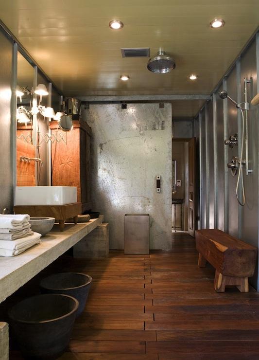 Industrial Bathroom Design Modern