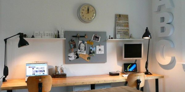 Industrial-Home-Office-Designs-with-Pendant-Lights-600x300