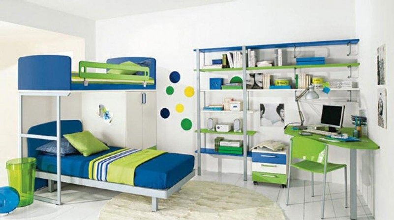 Library-Bedroom-with-white-sweet-design-801x490