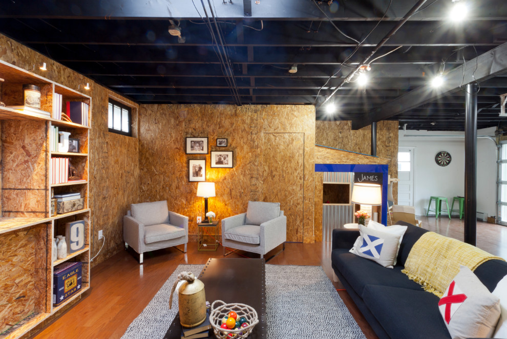 Lovely-Cheap-Lebrons-decorating-ideas-for-Basement-Industrial-design-ideas-with-Lovely-bar-area-basement