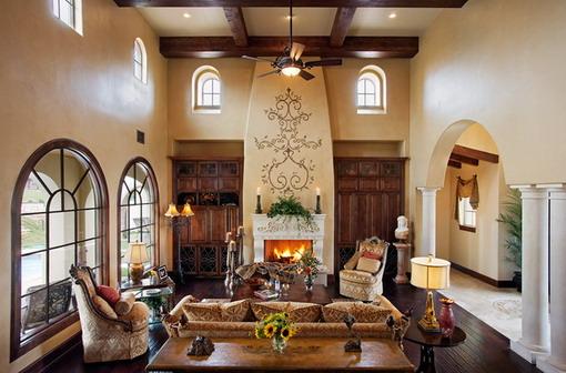 Mediterranean-Living-Room-Sofa-Designs