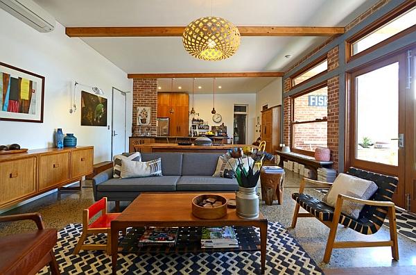 Mid-Century-Modern--living-room