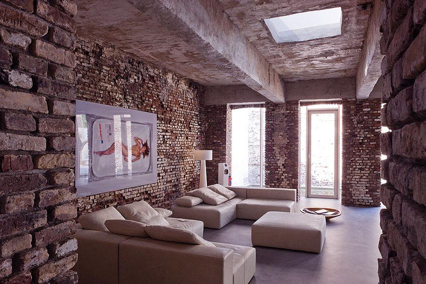 Modern-Minimalist-Industrial-Living-Room-Design