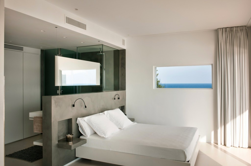 Open Bathroom_ Bedroom