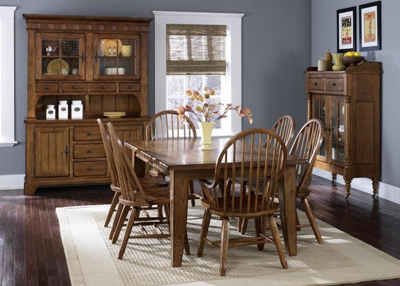 Rustic-Dining-Room-Designs-
