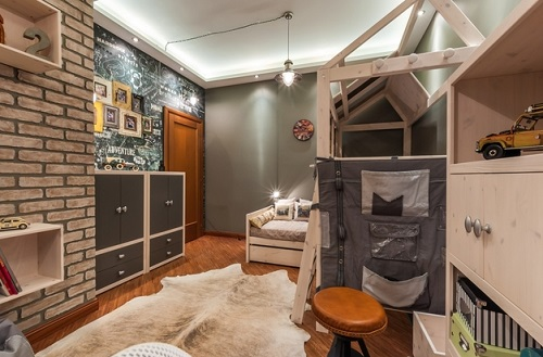 Rustic-Industrial-and-Natural-Boys-Children-Bedroom-Design-Ideas