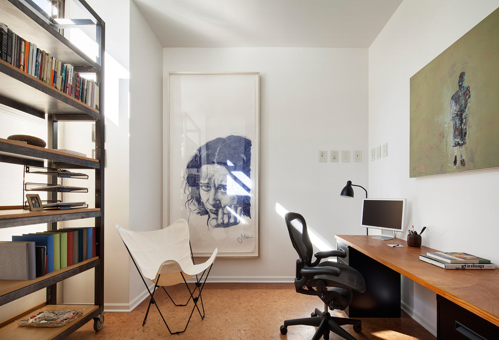 Stunning-Framed-Art-home-designing-tips-Contemporary-Home-Office-Chicago