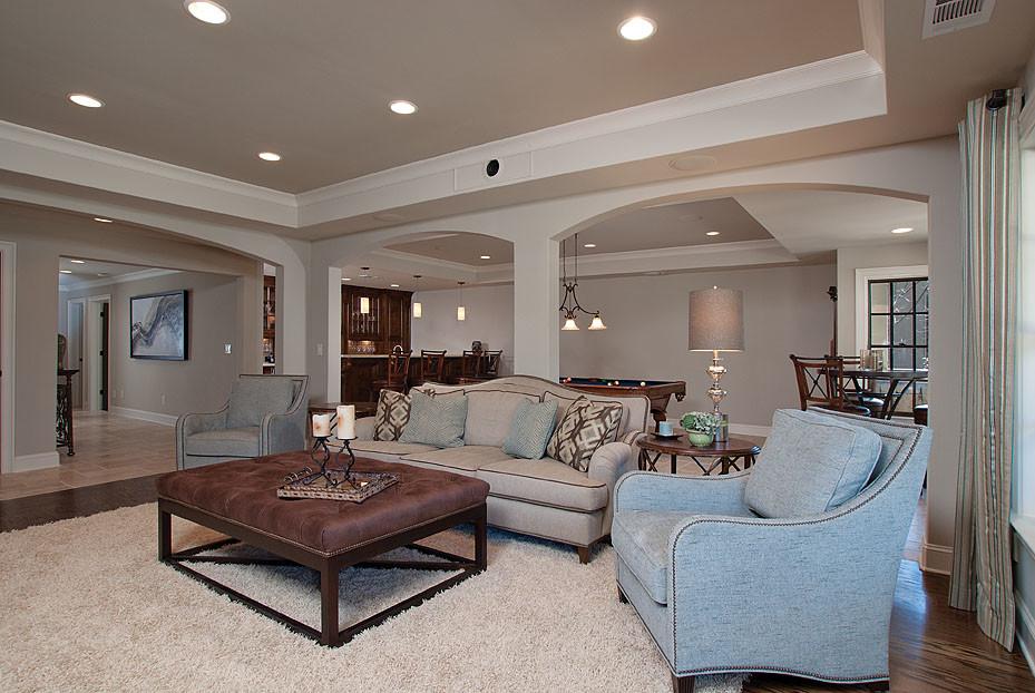 Terrific-Bleeker-Beige-decorating-ideas-for-Basement-Traditional-design-ideas-with-Terrific-basement-living-room
