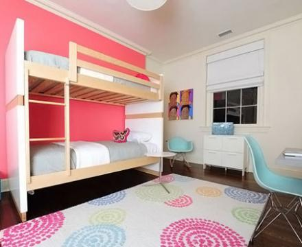 The-Pink-Wall-Of-Stylish-Teenage-Girls-Bedroom-Ideas-