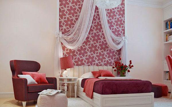 The-Red-Bed-Of-Stylish-Teenage-Girls-Bedroom-Ideas