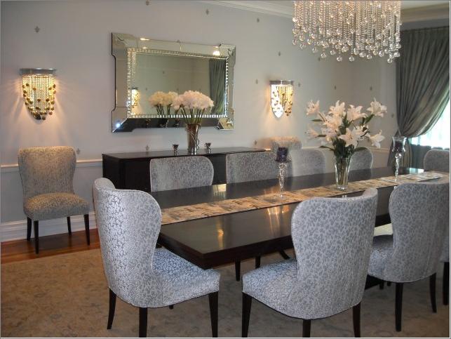 Transitional dining room designs