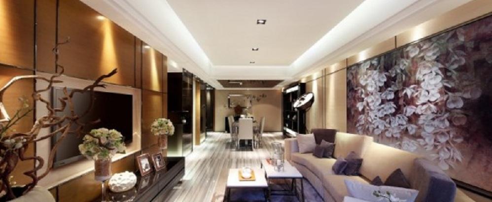 amazing-luxurious-living-room--modern-grey-sofa-