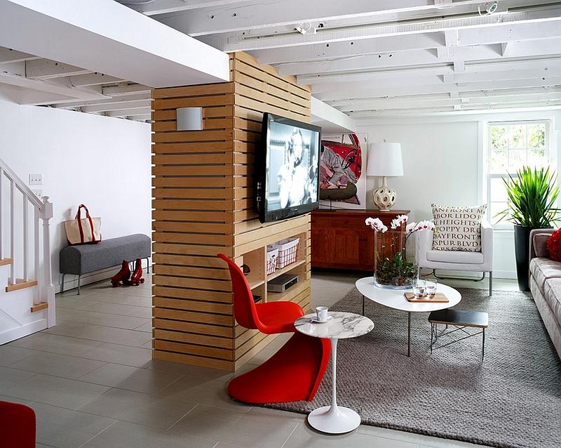 basement--mid-century-modern-decor