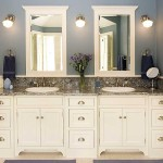 25 White Bathroom Cabinets Ideas