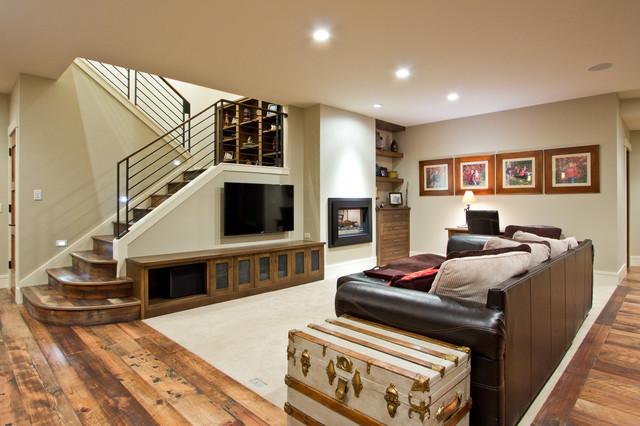 craftsman-basement-ideas