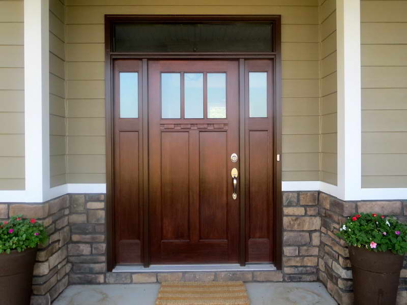 craftsman-style-fiberglass-front-entry-doors