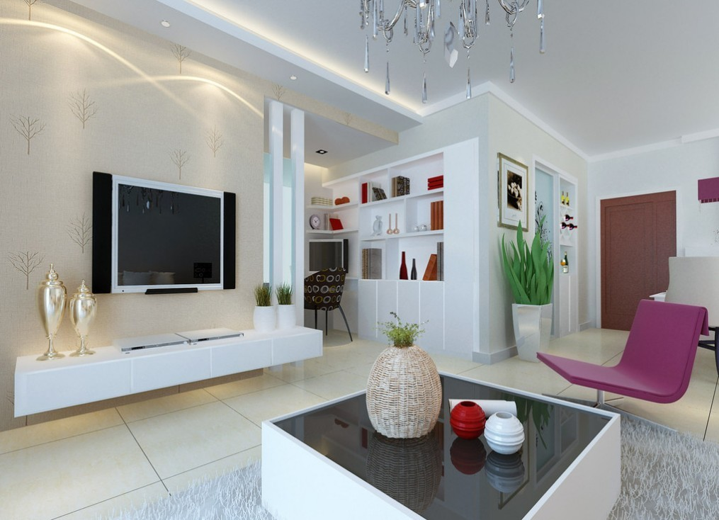 creative-living-room-ceiling-design