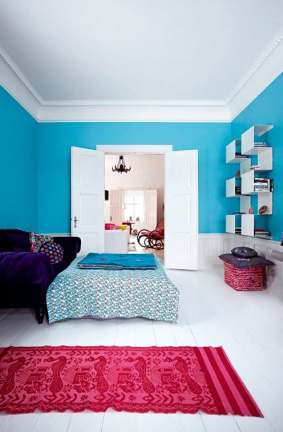 lovely-modern-colorful-bedrooms-bright-bedroom-colors