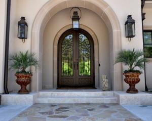 20 Incredible Mediterranean Entry Designs
