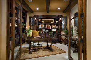 20 Amazing Mediterranean Home Office Design