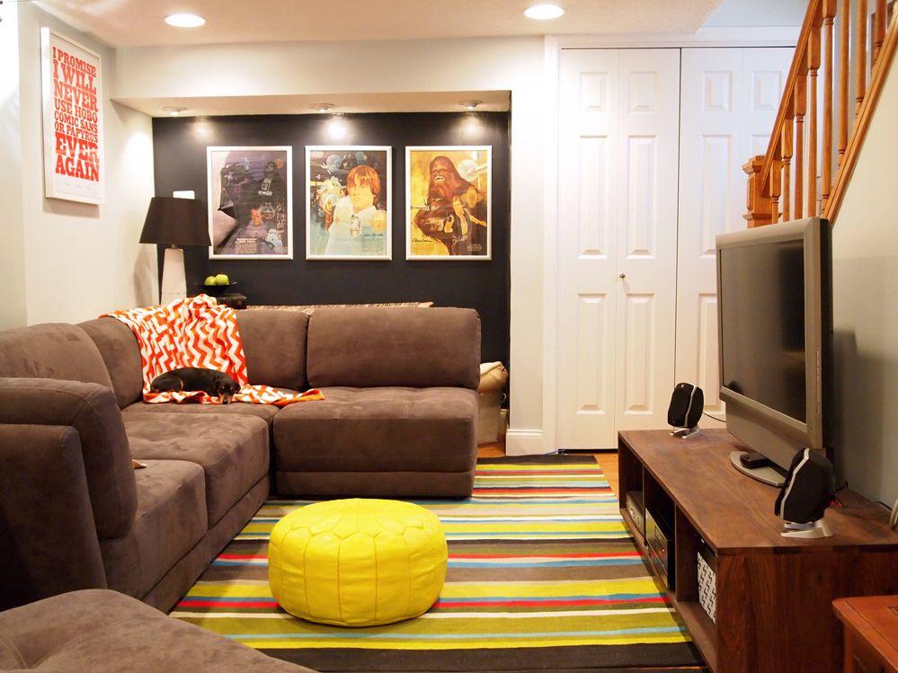 mid-century-basement-interior-design-ideas