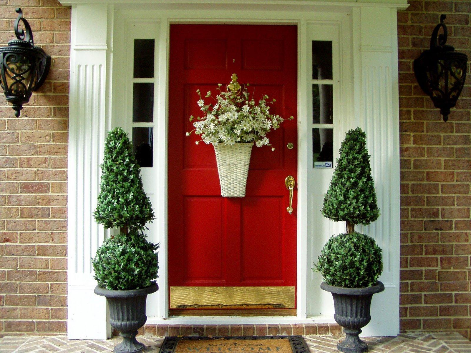 mid century entry-doors