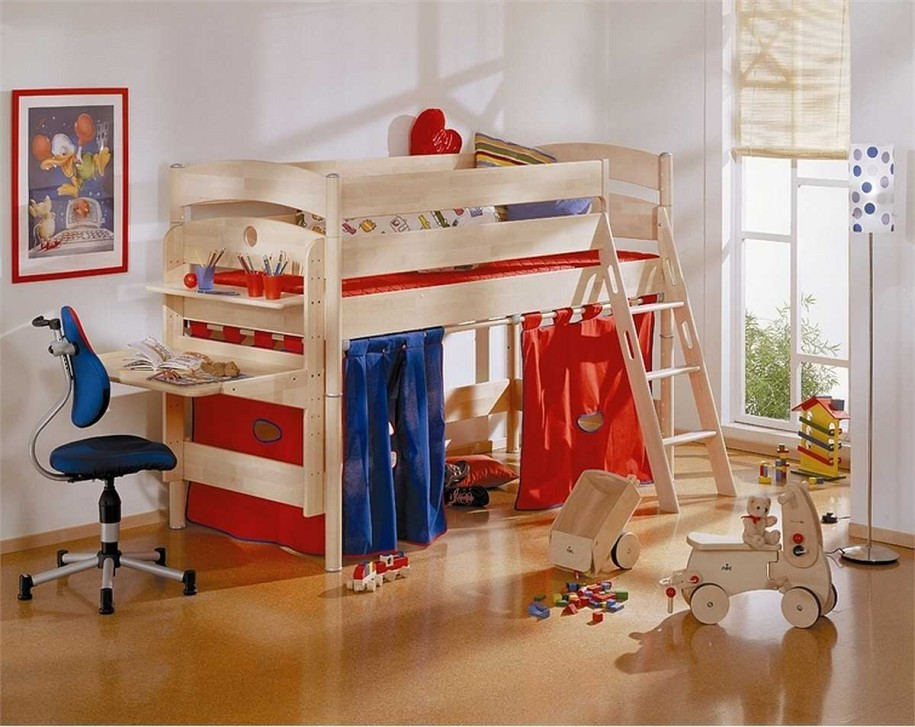 mid-century-kids-bedroom-design-ideas