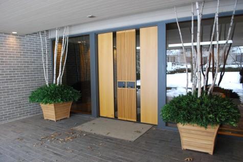 mid-century-modern-front-doors