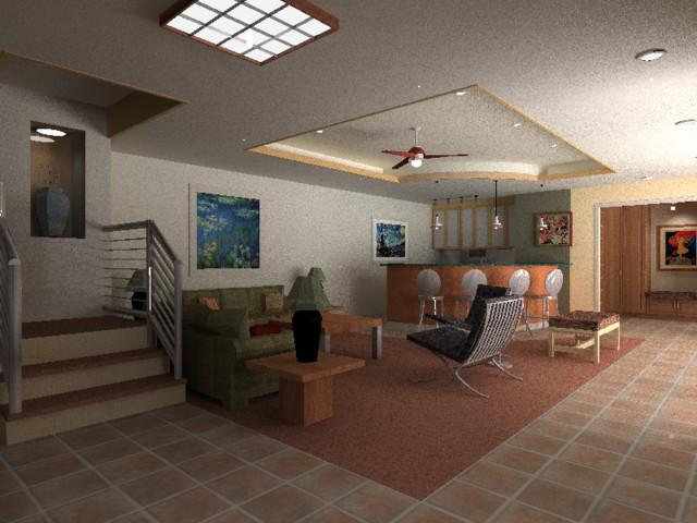 midcentury-basement